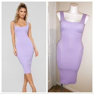 Lavender Midi Dress   Only Worn Once 💜